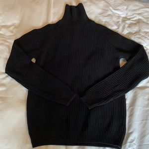 ZARA Men's Cable Knit Turtleneck Sweater NWOT